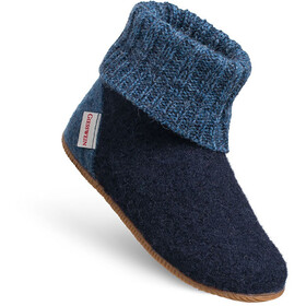 Giesswein Wildpoldsried Chaussons montants Enfant, ocean